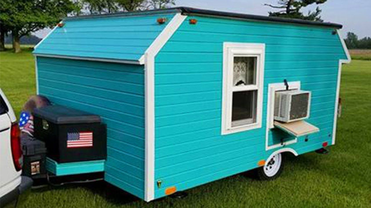 beautiful modern micro mini camper cottage home for sale 8 500 rh pinterest com