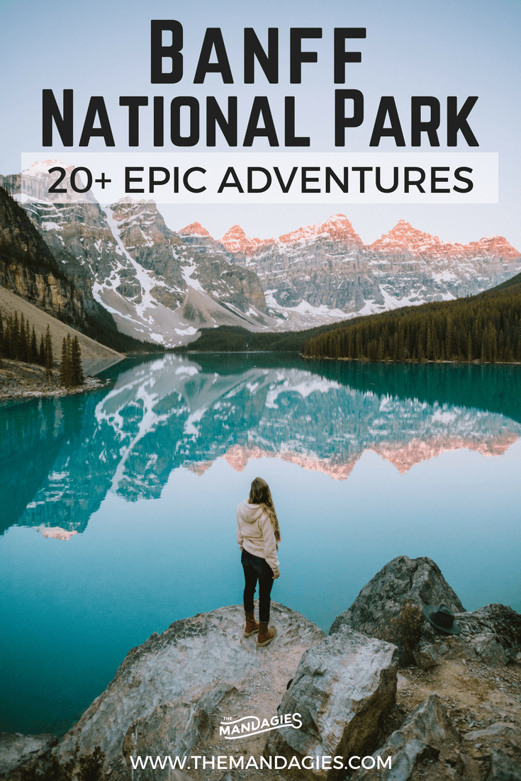 20 adventurous things to do in banff canada the mandagies rh pinterest com what to do in banff for a day what to do in banff without a car