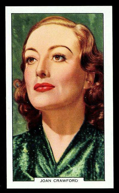 Cigarette Card - Joan Crawford