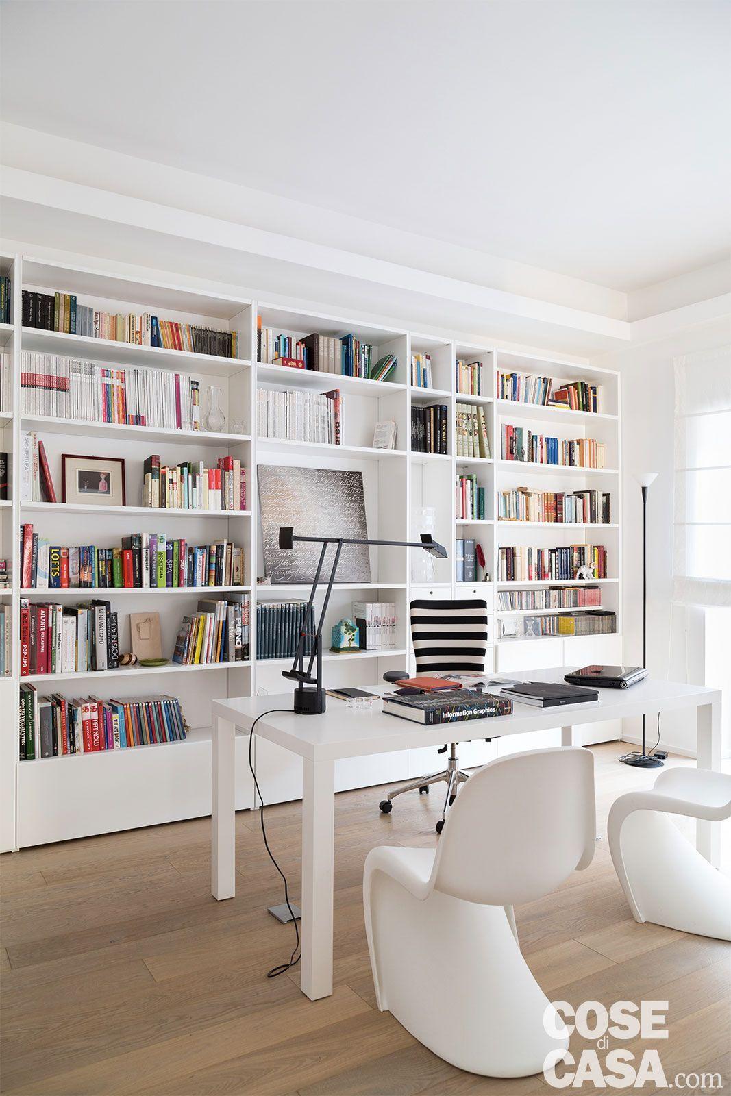 Pur design dans un appartement en Italie