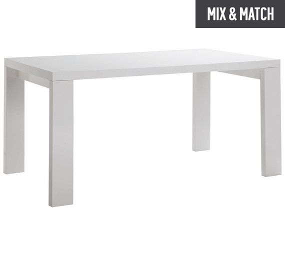 Argos High Gloss Table And Chairs