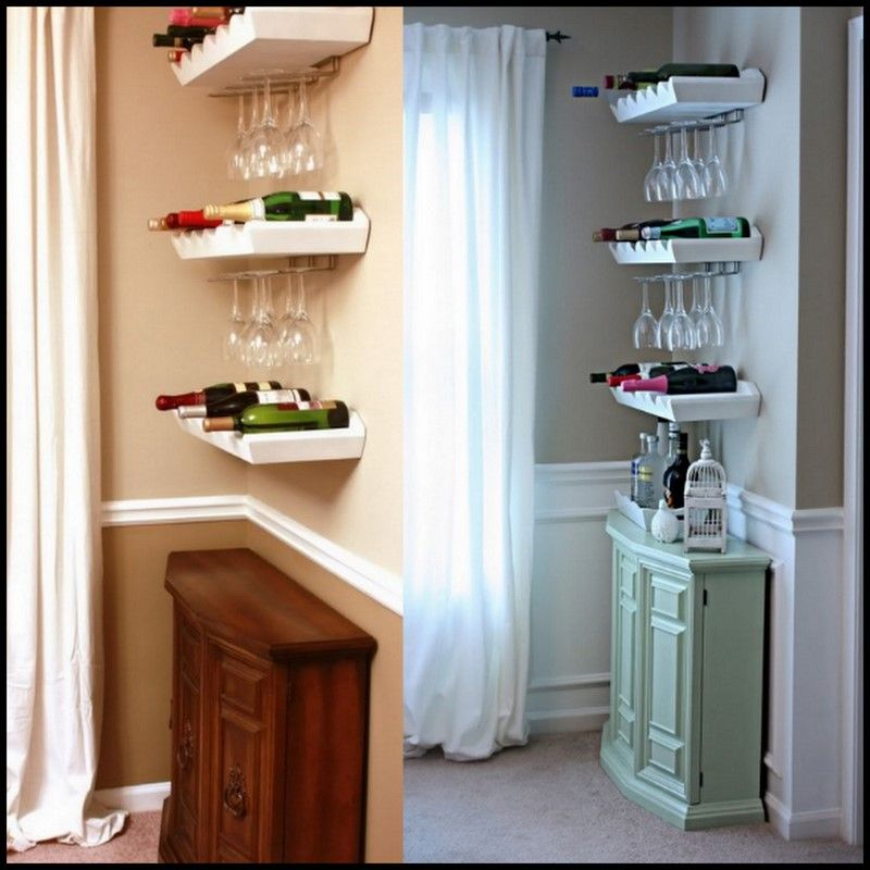 Cowie 39 S Craft Cooking Corner Mini Bar Nook Makeover Books Worth Reading Pinterest