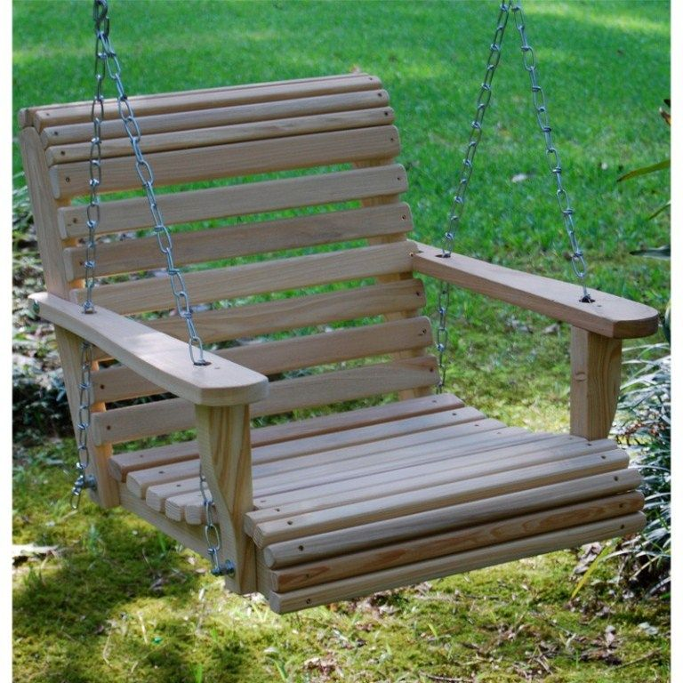 Single Person Porch Swing Swing Chair Outdoor Patio Swing Porch Swing