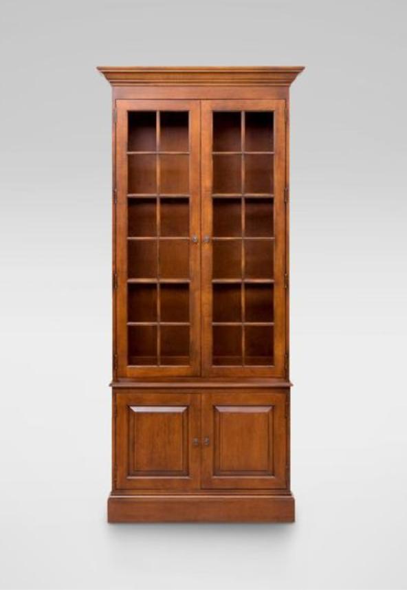 ethan allen villa single library bookcase 2 195 full crown rh pinterest com
