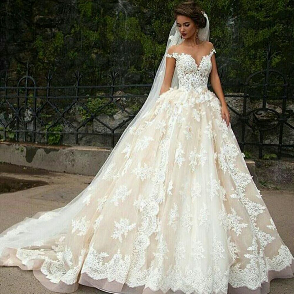 Very Puffy Wedding Dresses Cold Shoulder For Check More At Http