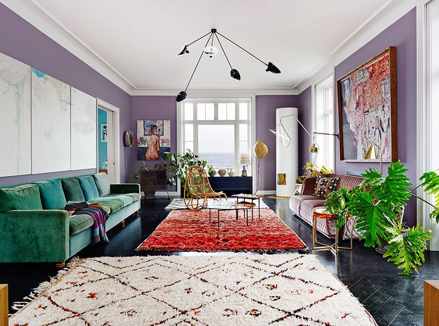 A Crazy Colorful House Tour With Inspirational
