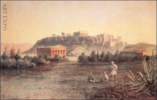 """""""Akropolis"""", Lantsas, Λάντσας Σ.    """"Ακρόπολη"""""""