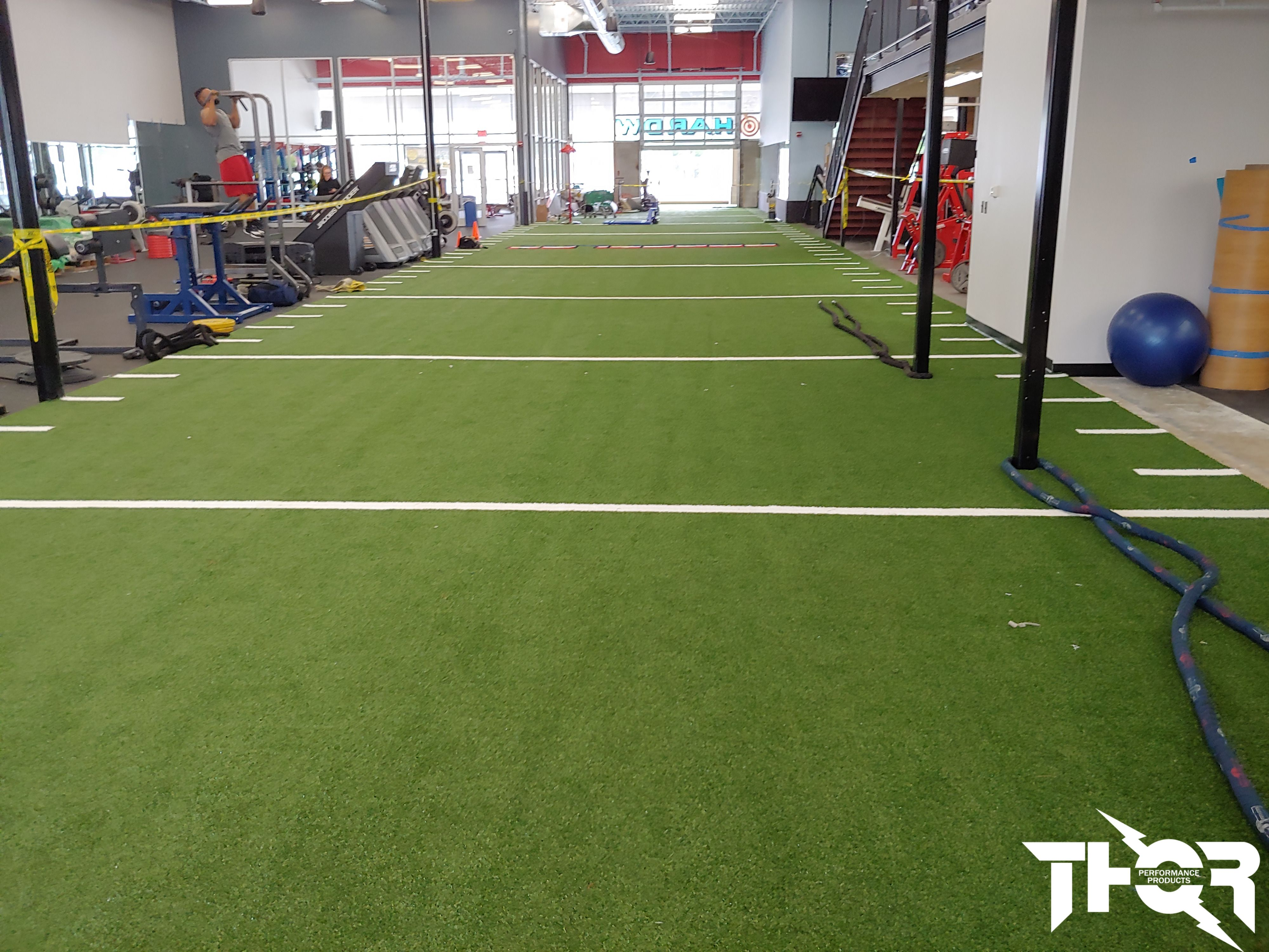 Artificial Turf For Fitness Wellness Design Floor Workouts Gym Design