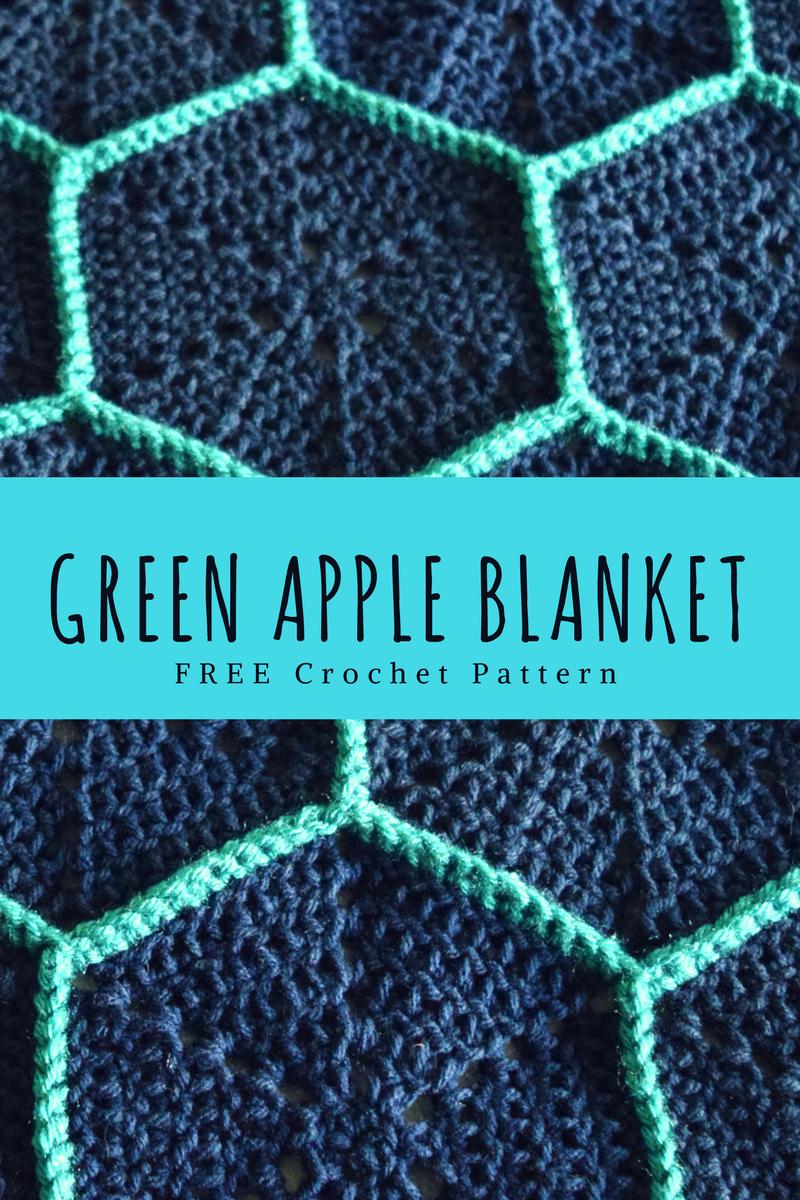 Green Apple Blanket | Pinterest | Kunsthandwerk und Häkeln