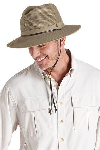 Men S Kaden Crushable Ventilated Hat Upf 50 Mens Sun Hats Sun Protective Clothing Canvas Hat