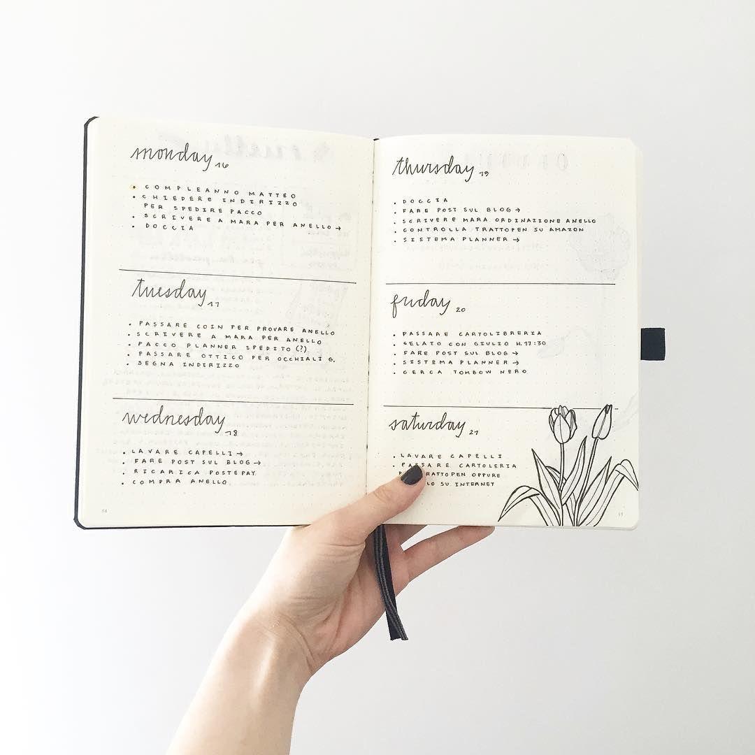 Configurar tu Bullet Journal - Estudio AVELLANA