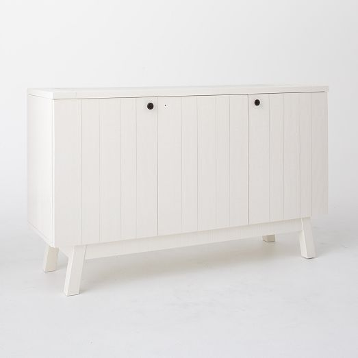 White Lacquer Storage Cabinet | west elm | design display decor ...