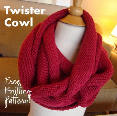 NobleKnits Knitting Blog: Twister Cowl Free Knitting Pattern Cruise ...