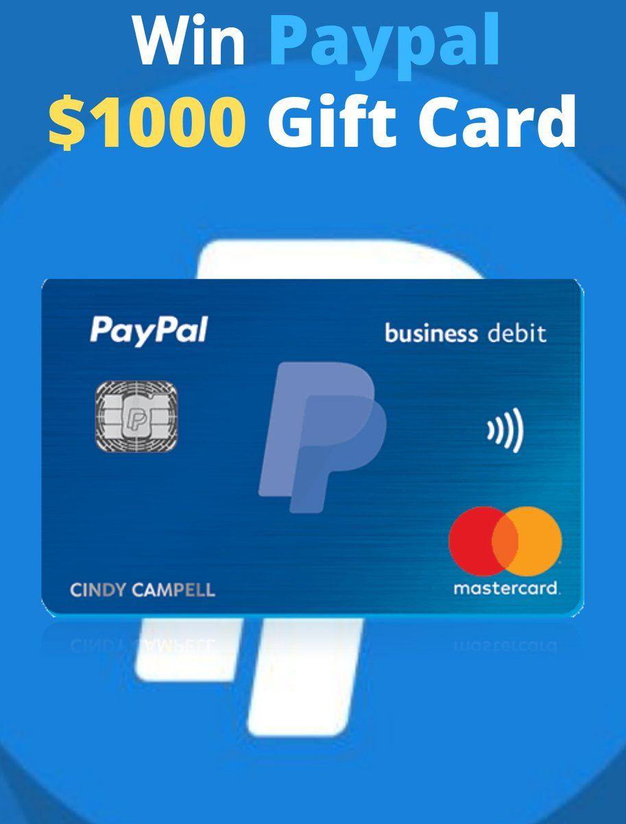 Paypal 1000 Gift Card Paypal Gift Card Free Gift Card Generator Best Gift Cards
