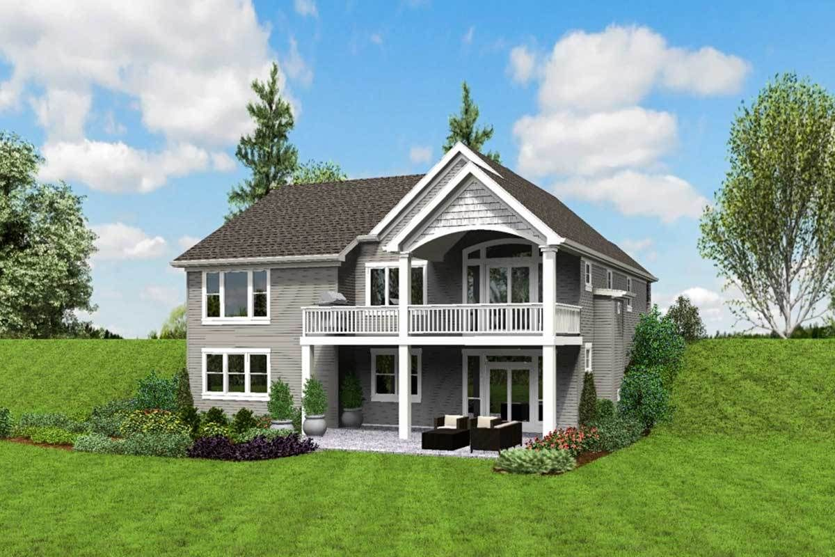 Plan 69661am Cute Craftsman House Plan With Walkout Basement Basement House Plans Lake House Plans Craftsman House Plans