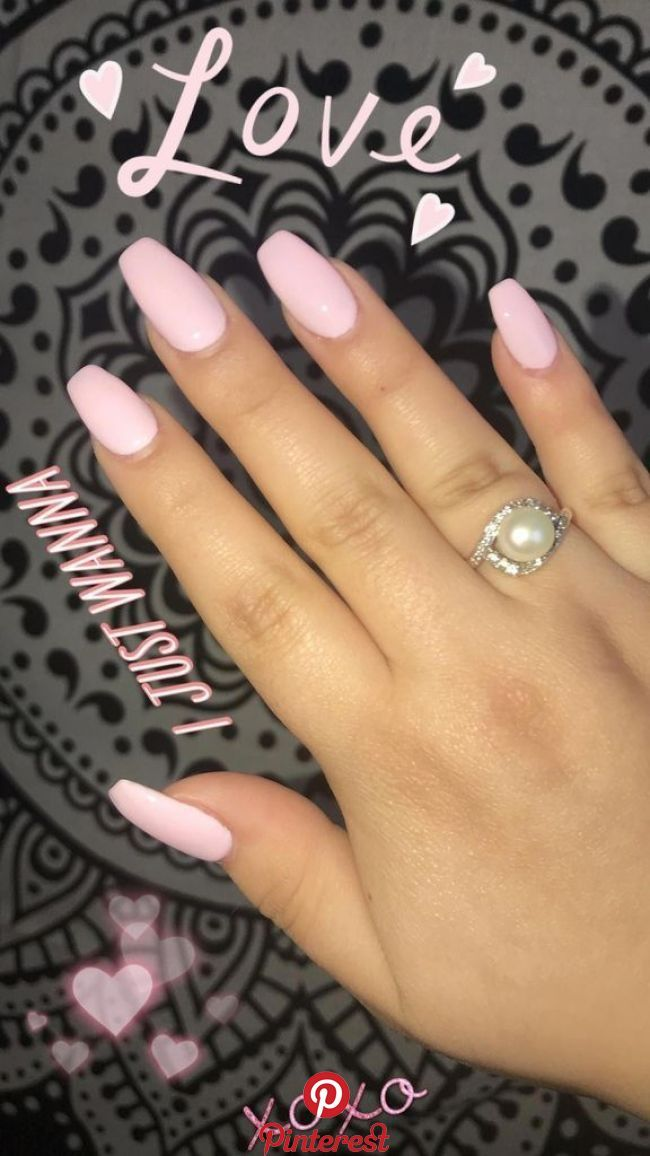 50 Most Popular Acrylic Nail Designs You Must Try Pink Acrylic Nails Summer Acrylic Nails Short Acrylic Nails