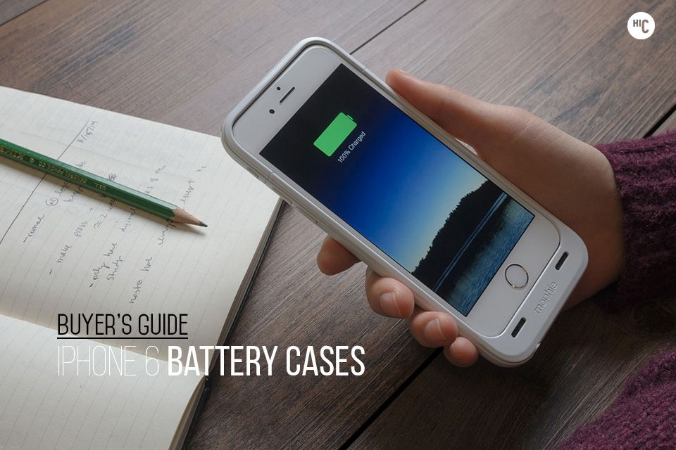 Rapid Recharge: The 6 Best iPhone 6 Battery Cases