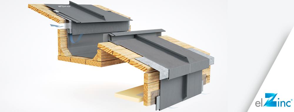 Elzinc 3d Models Of Standing Seam Zinc Roofing Details Elzinc In 2020 Metal Roof Installation Standing Seam Roof Zinc Roof