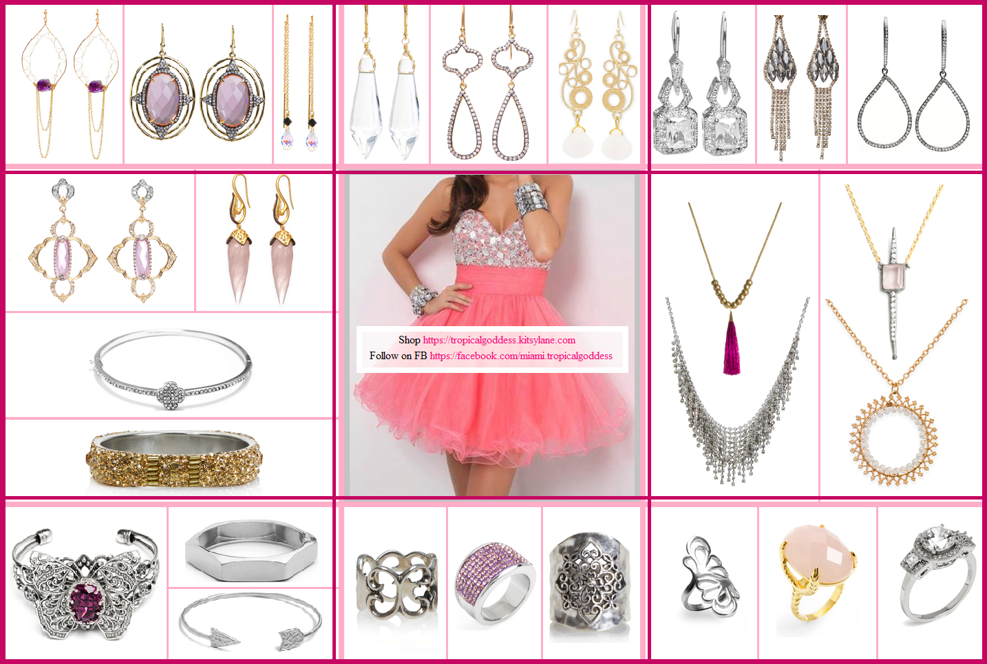 pretty in pink glam photo