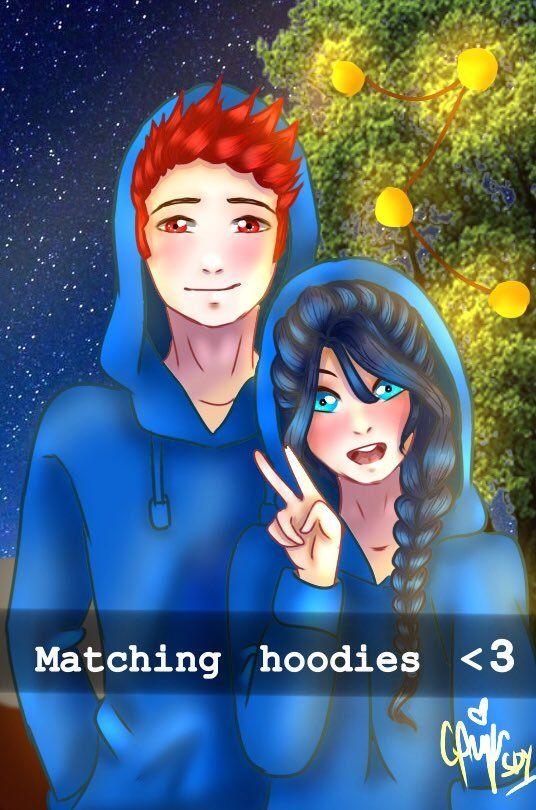 Matching Anime Hoodies : matching, anime, hoodies, Related, Image, Youtubers,, Anime, Hoodie,