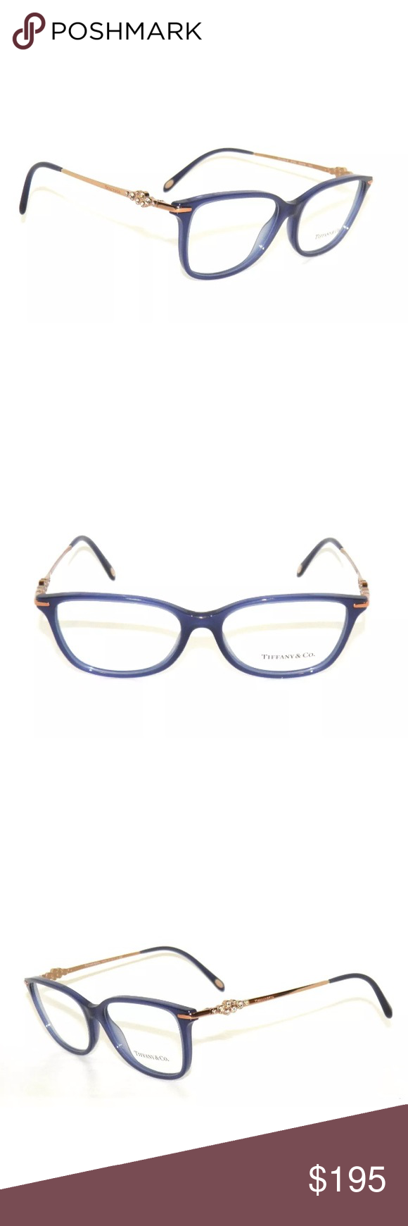 a48e80d2afd9 Tiffany   Co Eyeglasses Blue Frame In excellent condition. Comes with  Tiffany case. Authentic Tiffany   Co. Accessories Glasses