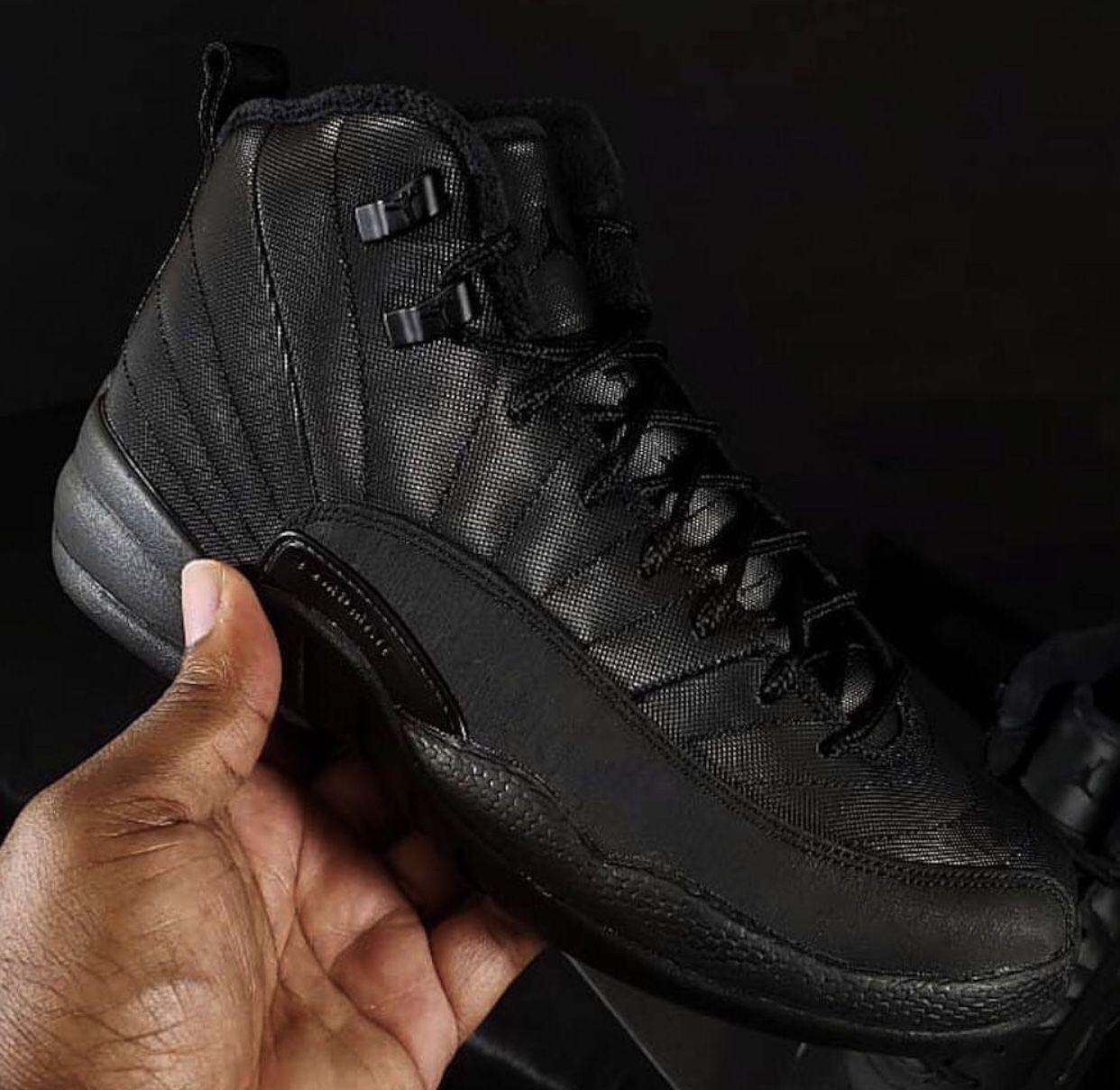 6d19e744e3ca Jordan 12 Triple Black
