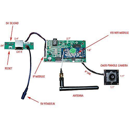 Do It Yourself Remote View Wifi Hidden Spy Camera Kit Hidden Spy Camera Spy Camera Spy Gadgets