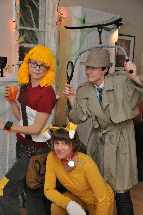 Inspector Gadget crew Tickle Trunck Pinterest Inspector gadget - halloween movie ideas