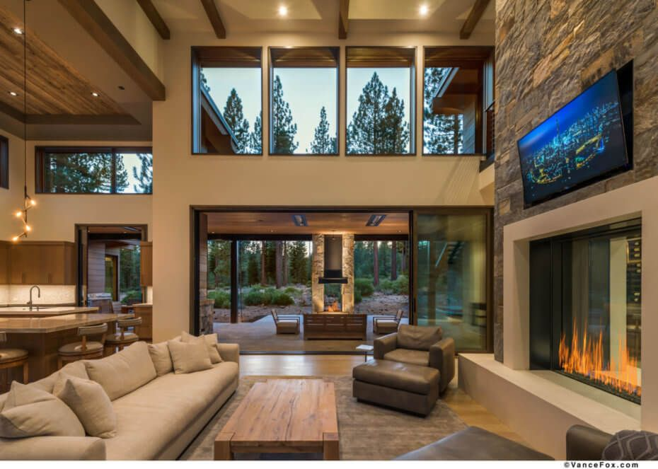 Winemaker S Loft Mark Tanner Construction Rustic House Beautiful Homes House Design