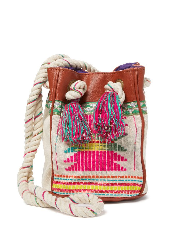 3c4a4892be Bagoo Mini Bucket Bag by Hipanema at Gilt | Bags | Bags, Bucket Bag ...