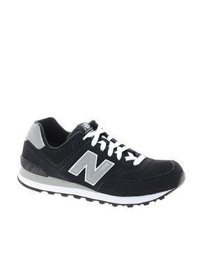 3d370d7ad9d New Balance 574 Black Sneakers