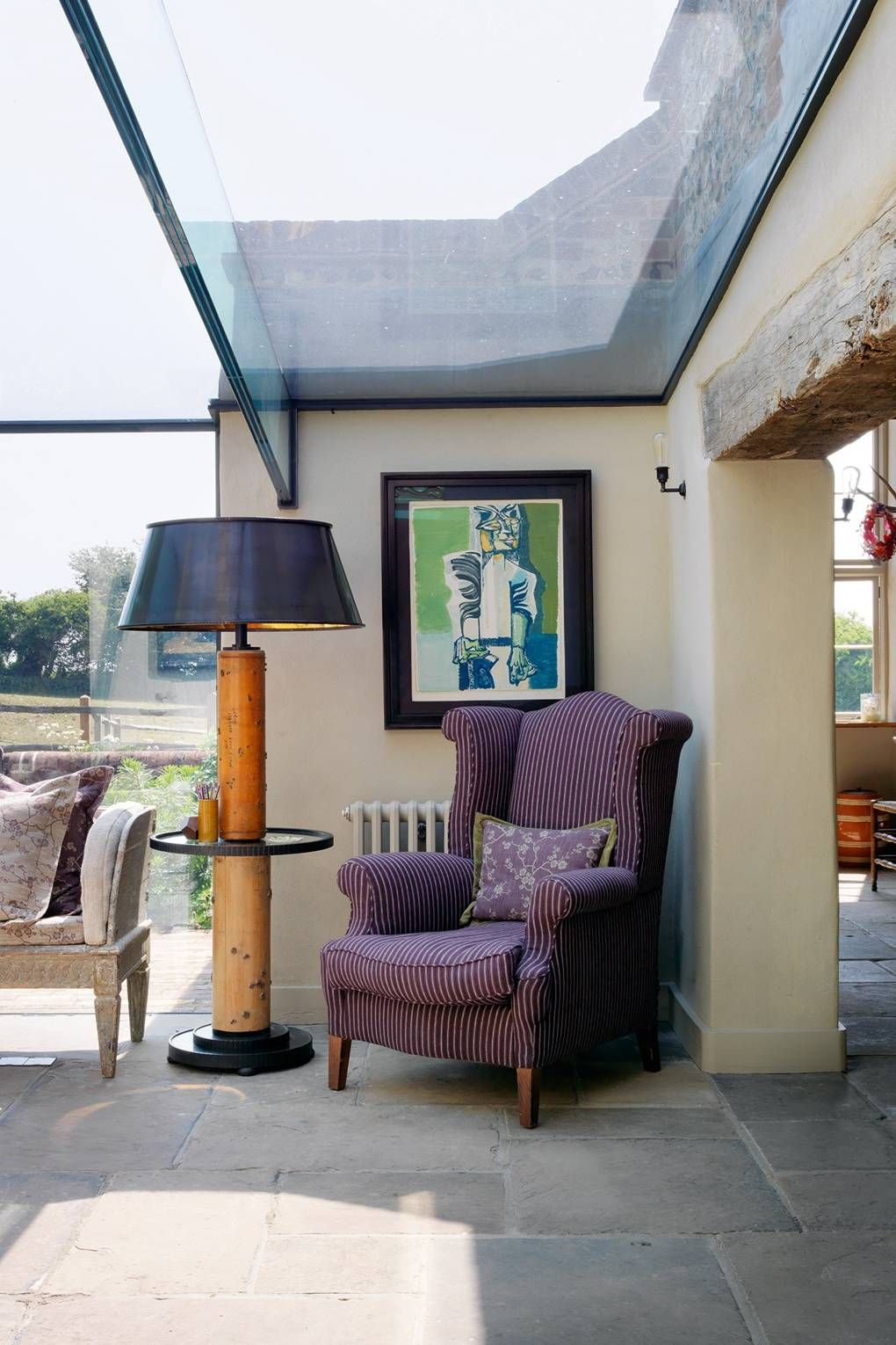 vogue archivist and editor robin muir s country home decorated by rh pinterest ca