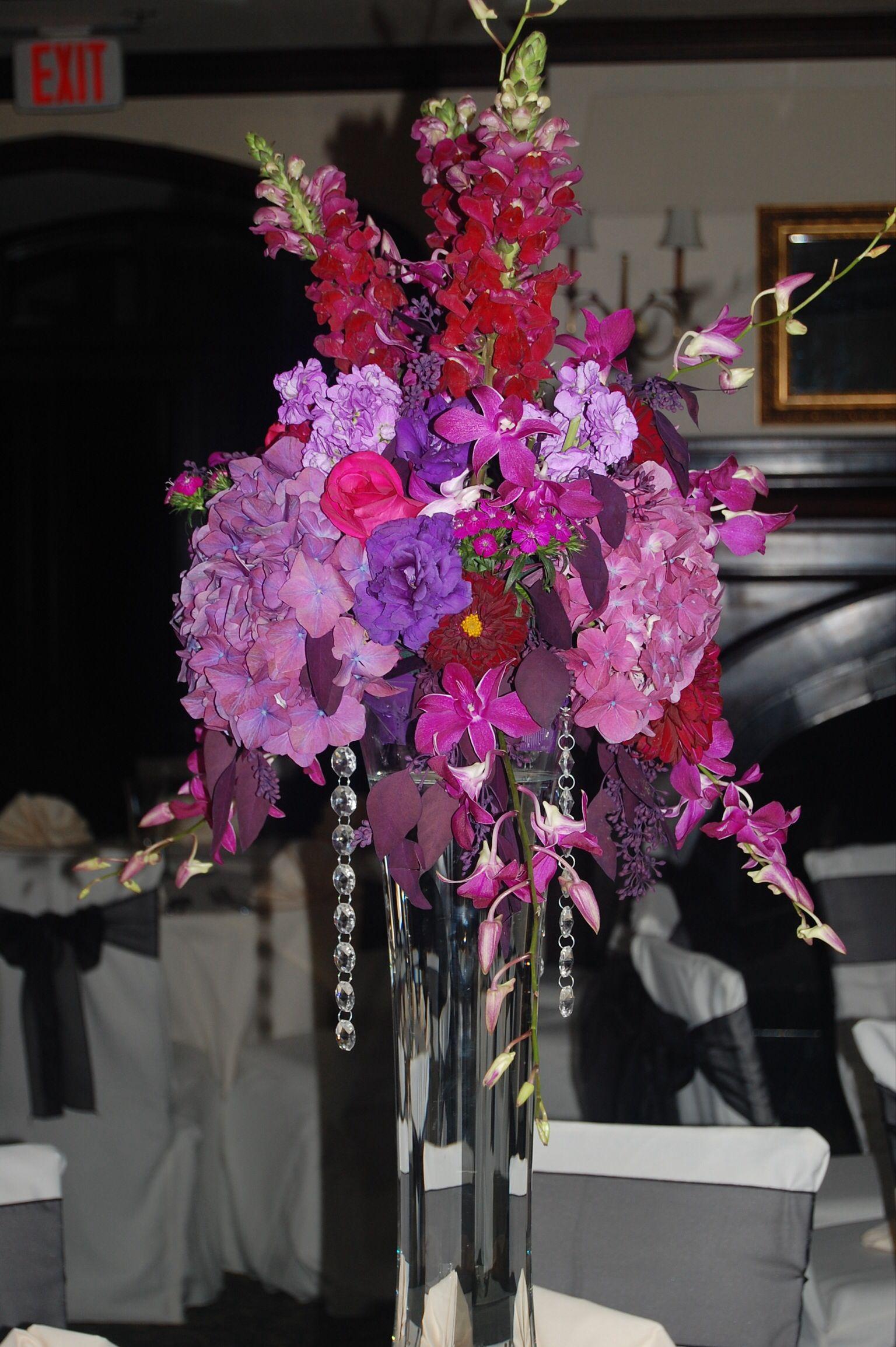 wedding centerpieces fake flowers%0A Purple wedding flowers  www floralconceptstx com