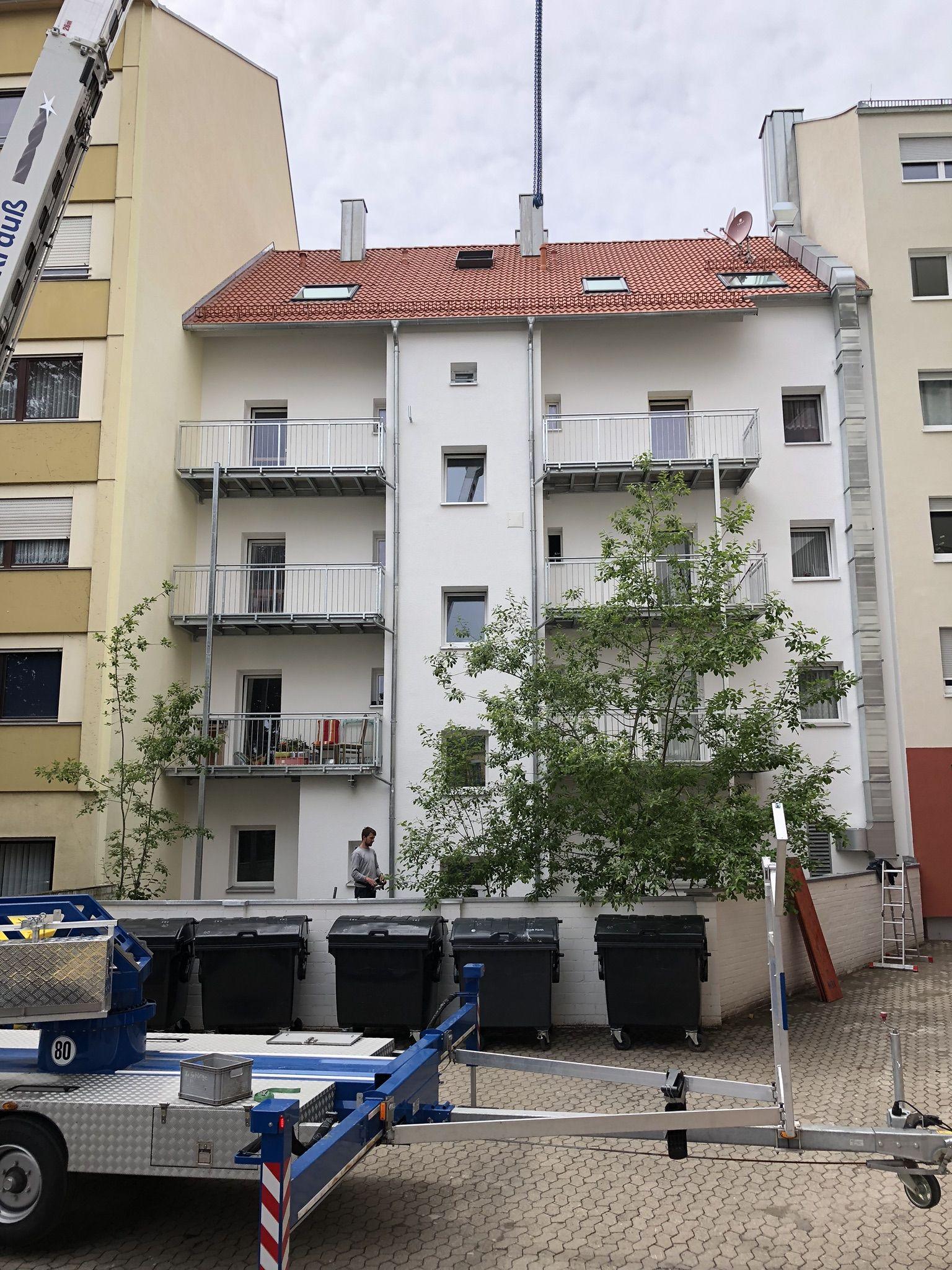Balkone + Geländer
