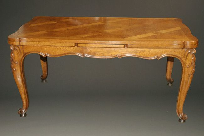 antique 19th century country french oak drawleaf table in 2019 rh pinterest com