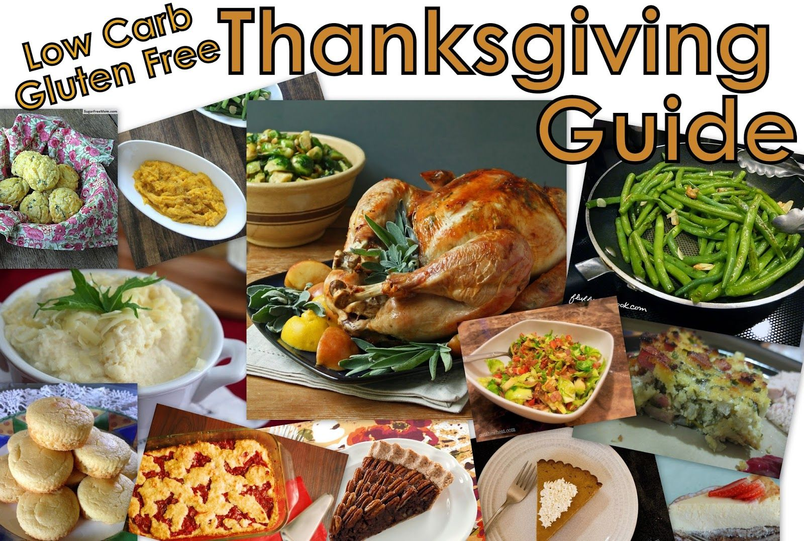 Cut the Wheat: Complete Low Carb Thanksgiving Guide