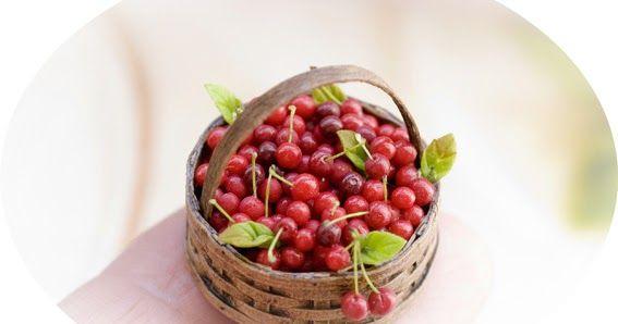 Este es el último post que pongo antes de irme a   Kensington Dollshouse Festival     Cerezas mi fruta preferida!!