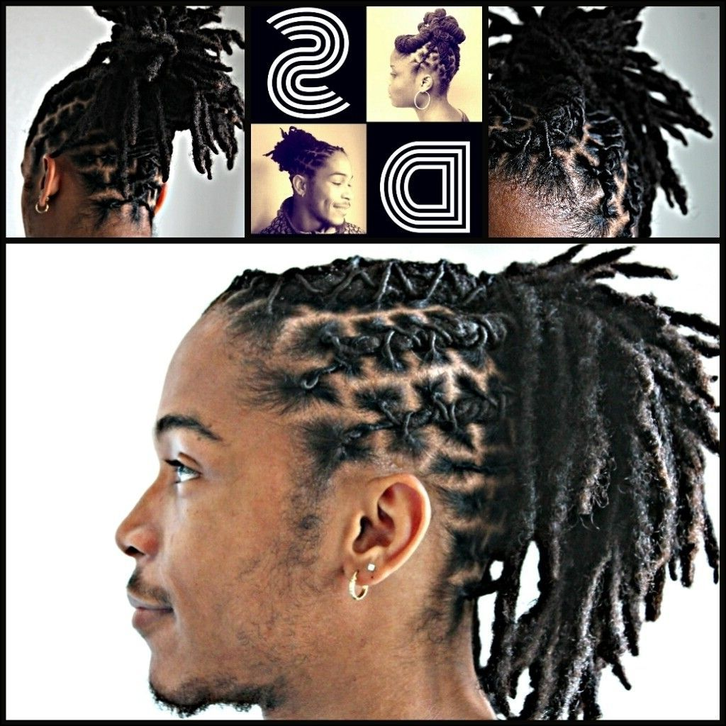 Nice Short Dreads Hairstyles For Men