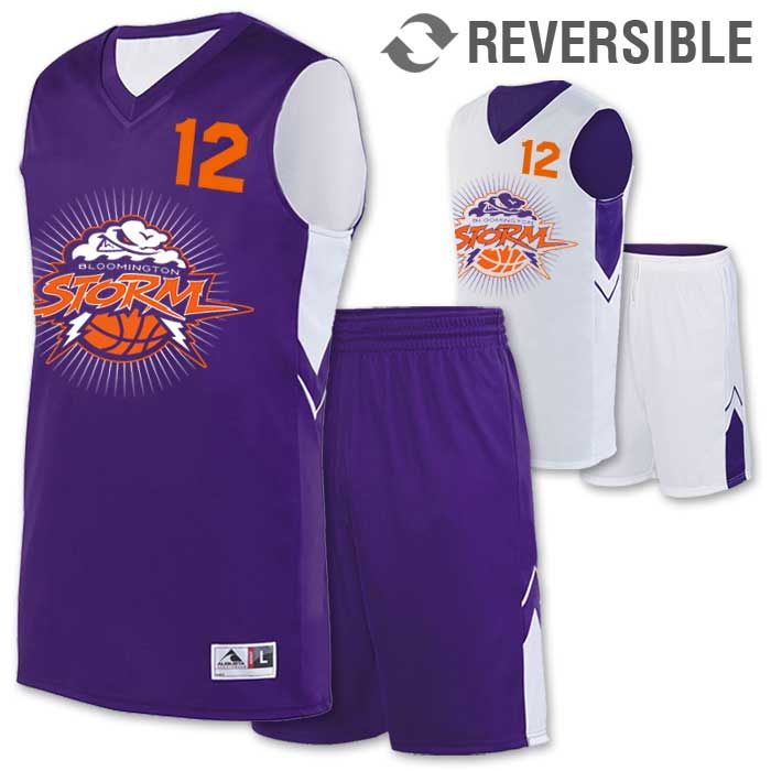5ddece93ffcf Alley-Oop Reversible Basketball Uniform
