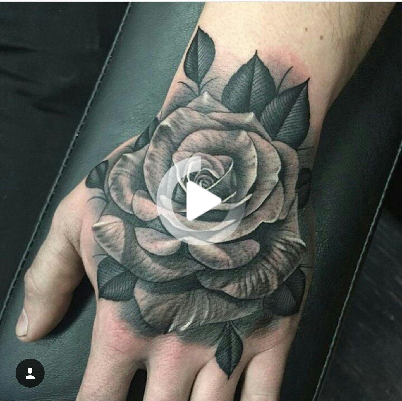 Tatuajes En La Mano De Mujer Rosas