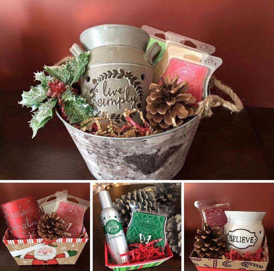 Scentsy Christmas Gifts.Scentsy Christmas Gift Baskets Name Your Price Warmer