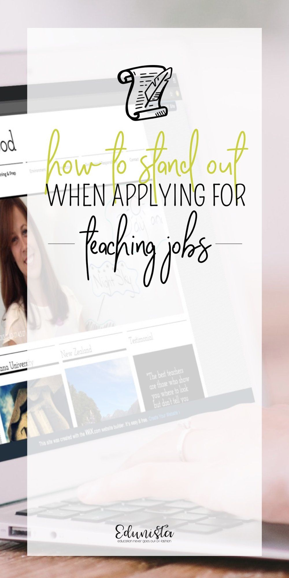 How to Stand Out when Applying for Teaching Jobs