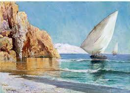 Resultado de imagen de cuadros de barcas