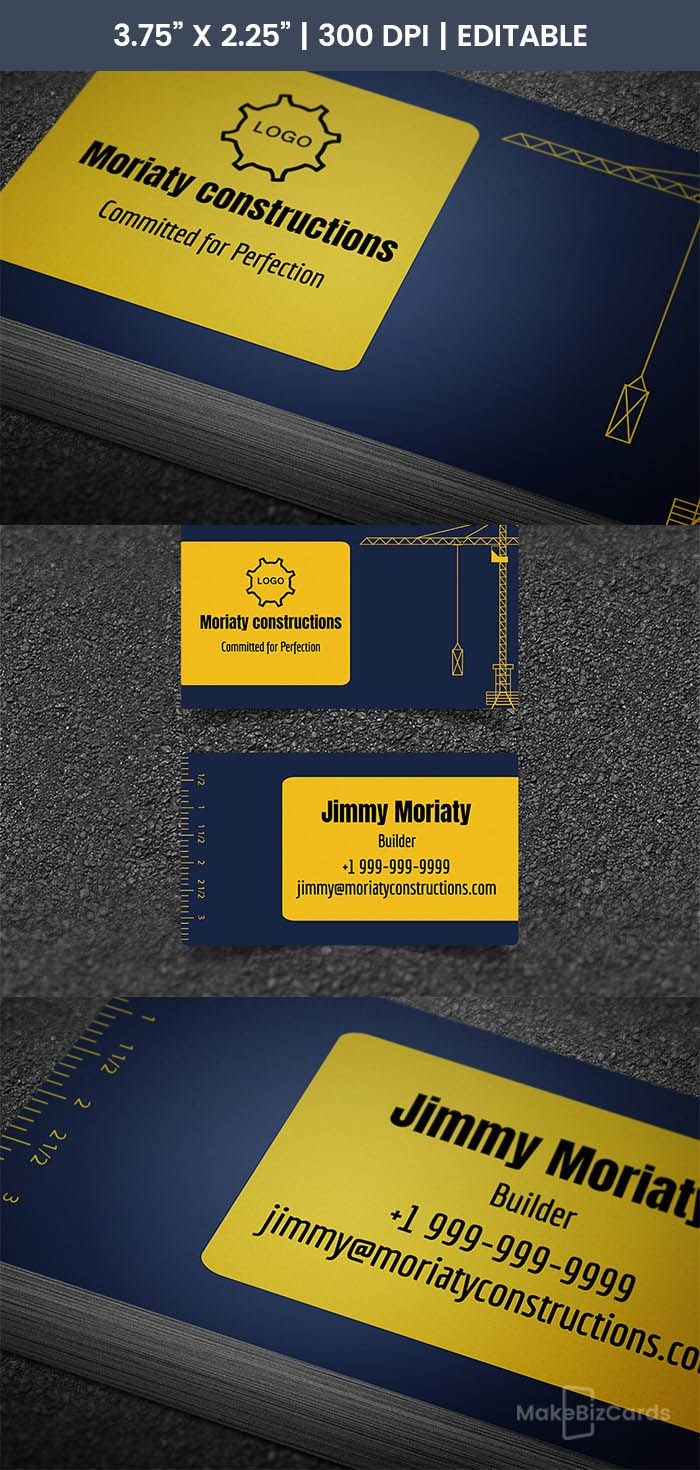 Free Heavy Equipment Business Card | Pinterest | Heavy equipment ...