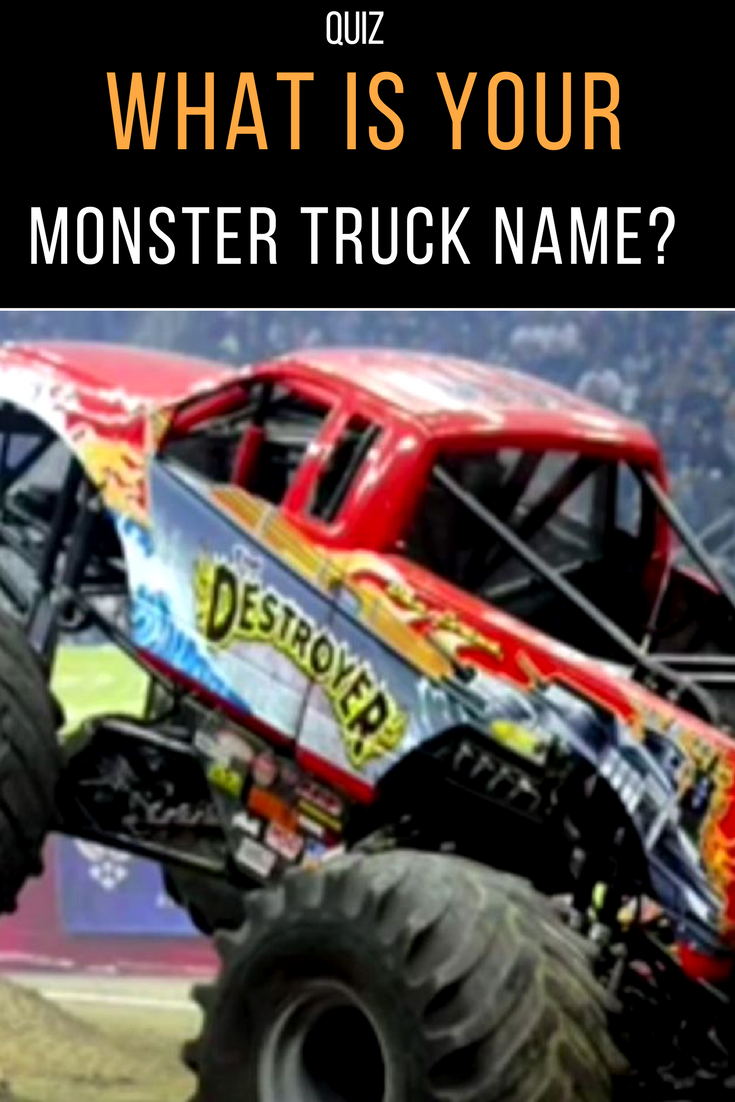 These Are Among The Names Of Monster Trucks Most American Motorsports Each Truck Has Its Personality Own Identity