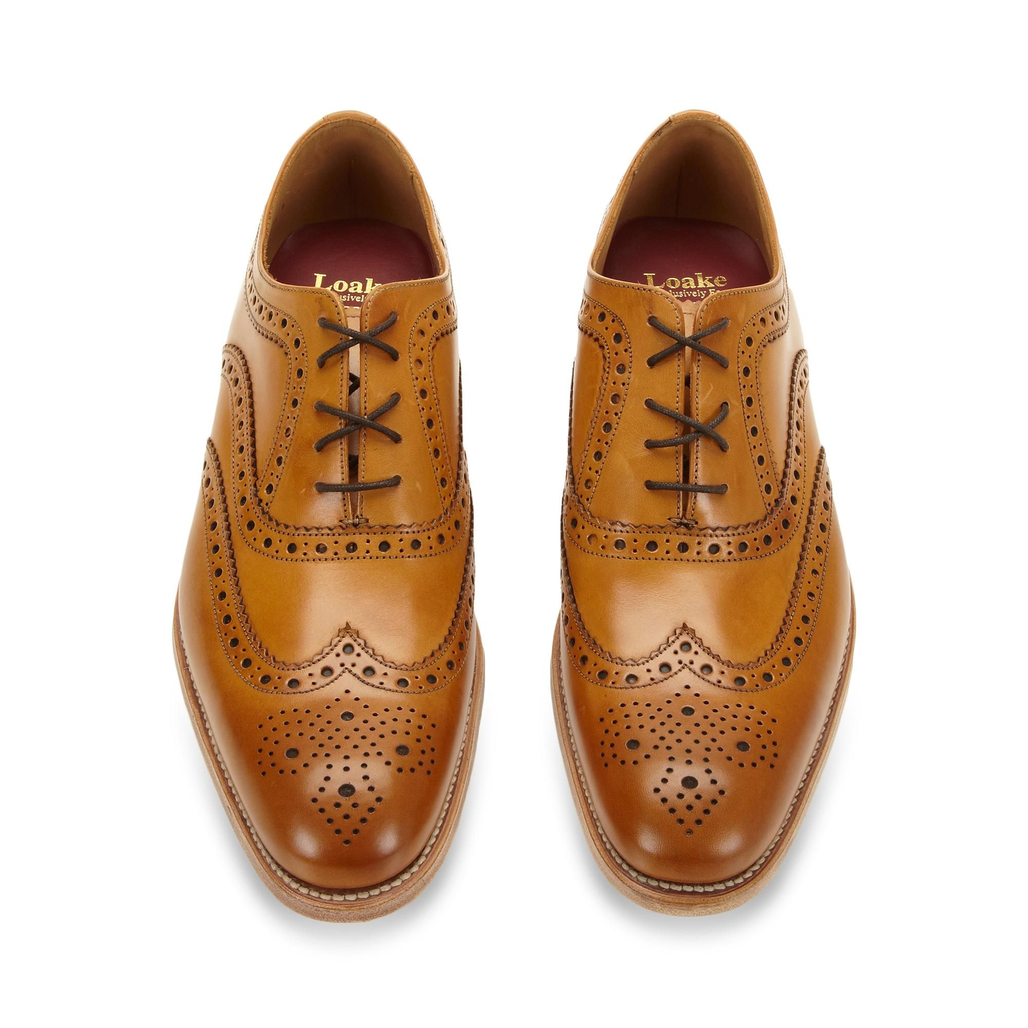 Mens leather gloves at debenhams - Designer Tan Leather Brogues Brogues Debenhams Com Loake