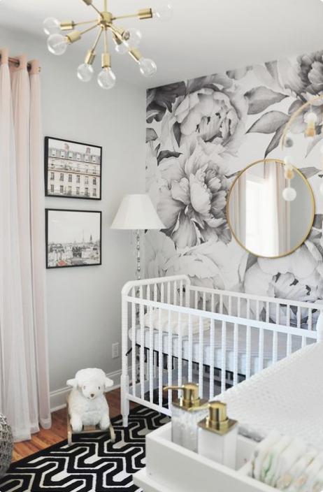 modern nursery decor nursery design inspiration styling baby rh pinterest com