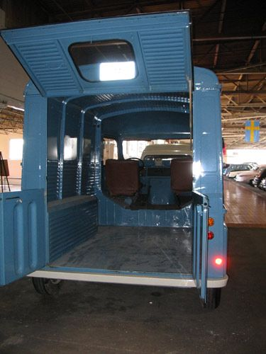 Citroen Type H 1972 The Back Entrance Was Designed With Two Doors