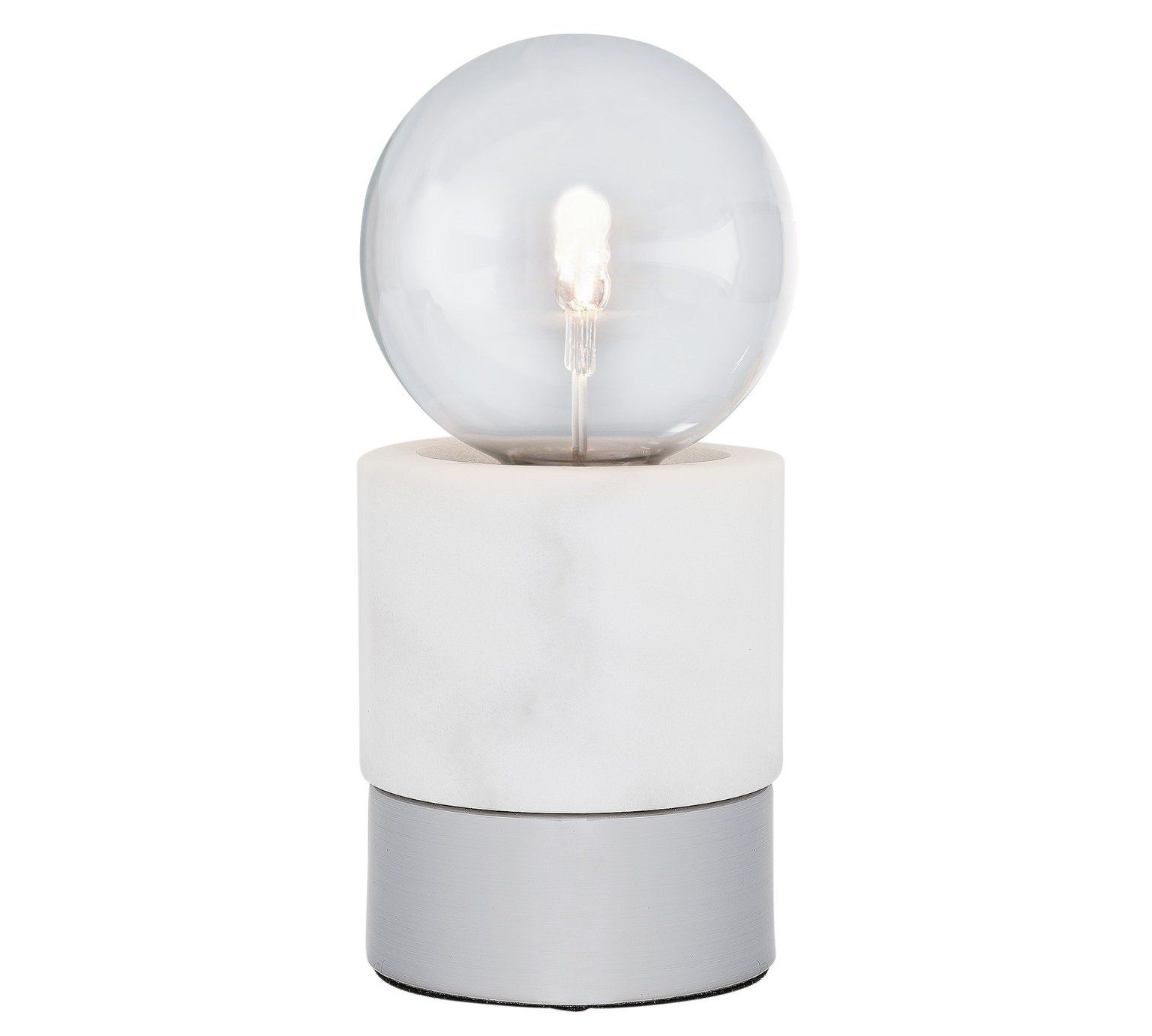 Buy collection farrah marble and chrome touch table lamp at argos buy collection farrah marble and chrome touch table lamp at argos aloadofball Images