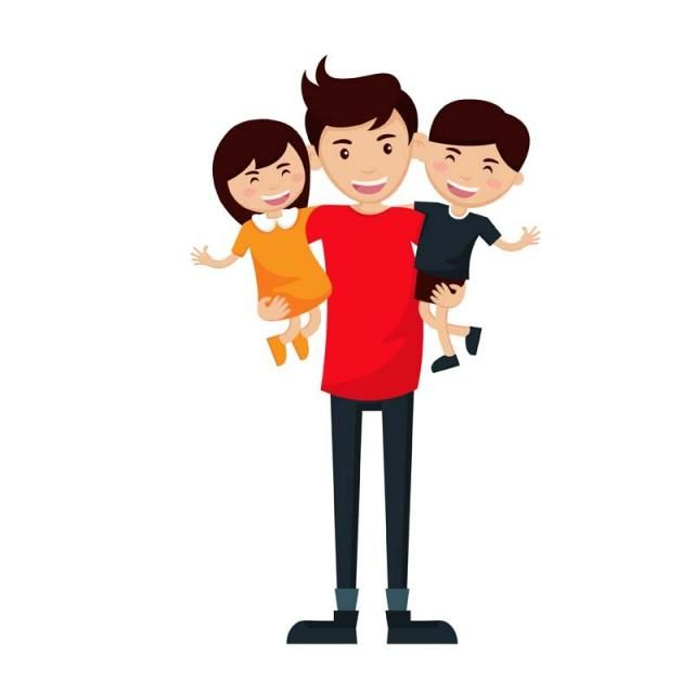 Character Avatar Isolated Illustration Png And Vector With Transparent Background For Free Download Fathers Day Wallpapers Cartoon Kids Illustration